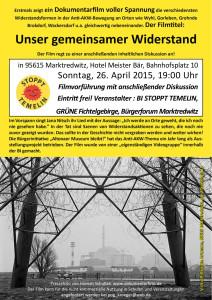 Flyer für Marktredwitz Sonntag 26.04.2015-1