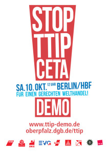 10.10. TTIP Demo Berlin - DGB Oberpfalz, Eindruck1