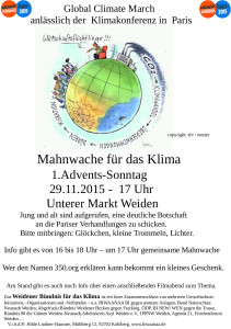 Global Climate March Flyer final final