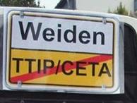 Weiden stopp TTIP...